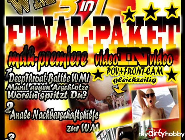 - WM WETTEINSATZ!!  3 in1 LUCY´S FINAL-PAKET!