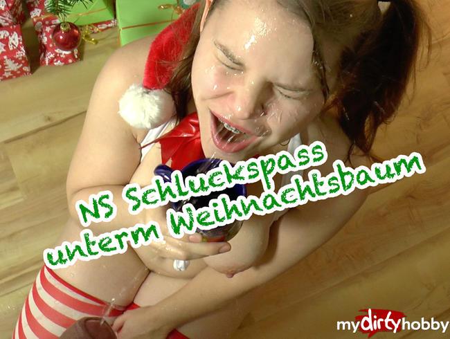 - NS Schluckspaß unterm Weihnachtsbaum
