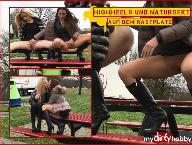 - SEXY! HIGHHEELS & NATURSEKT auf der Autobahnraststätte