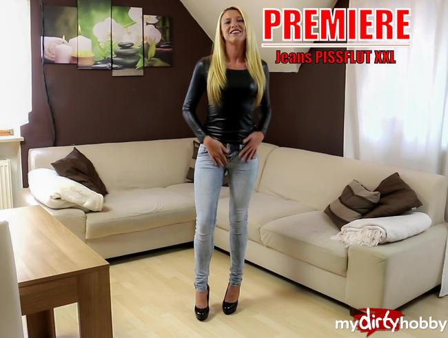 - Premiere! Mein 1. Jeans-Piss!