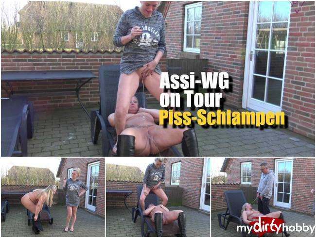 - Assi-WG on Tour – Piss-Schlampen