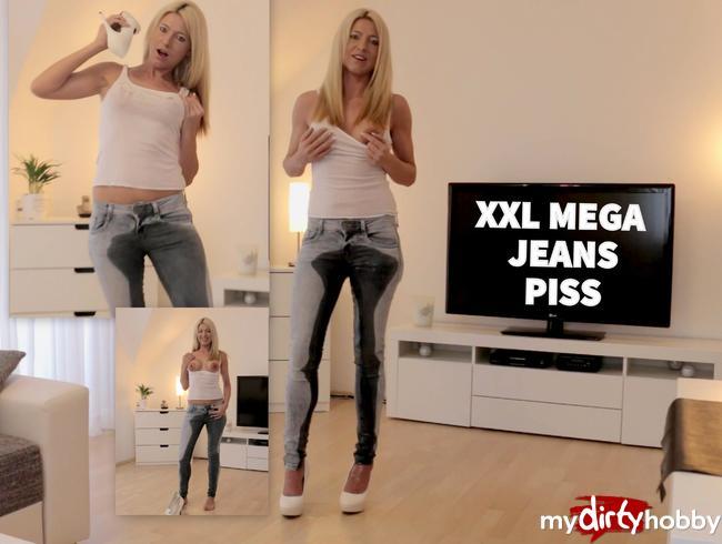- Der XXL MEGA Jeanspiss!