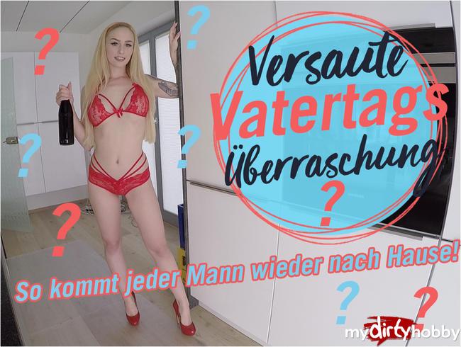 - VERSAUTE VATERTAGS ÜBERRASCHUNG!     ????       | LUCY CAT