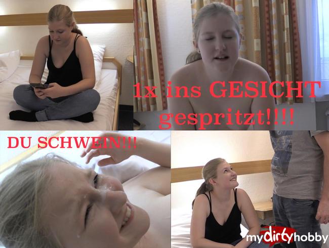 - 1x GESICHT GESPRITZT!!!