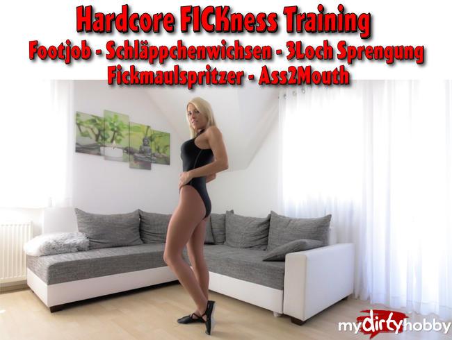 - Hardcore FICKness mit dem XXL Fickmaulspritzer!