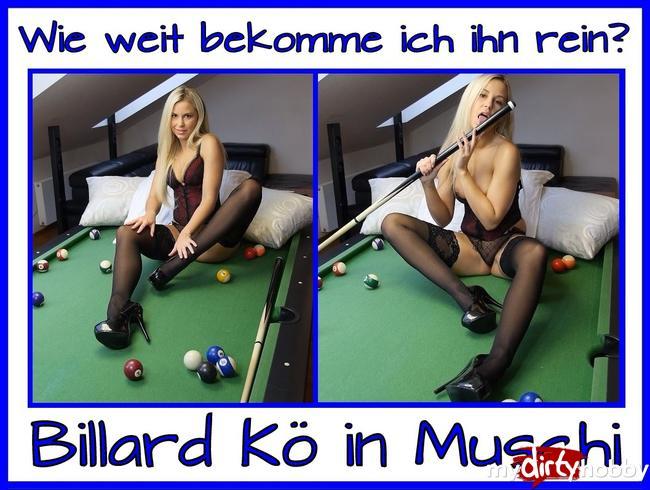 - Versautes Billiard Spiel…
