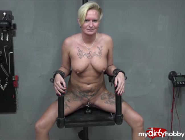 - Hardcore Session auf dem Stuhl