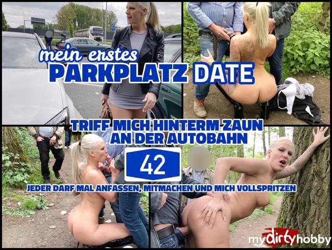 - Parkplatz Date an der A42   Jeder darf mich benutzen und vollspritzen