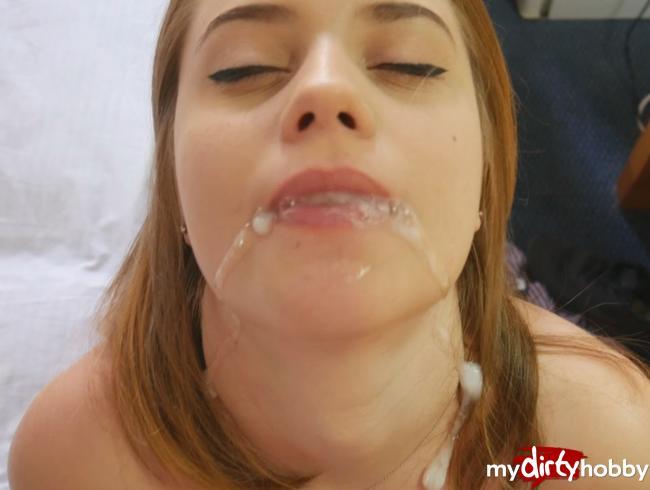 - Hotelzimmer Sex im Urlaub!! Mit mega Cumshot in den Mund!!