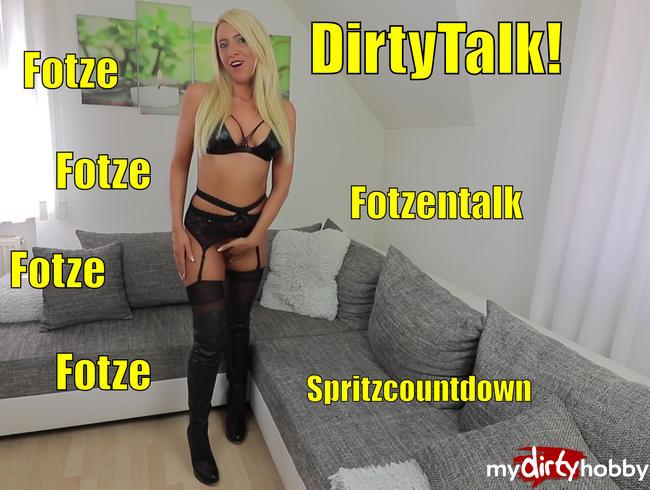 - Dreckiger Fotzentalk mit Spritz-Countdown! Dirtytalk Wichsanleitung!