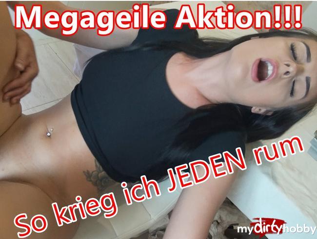 - MEGAGEILE AKTION!!! So krieg ich JEDEN rum