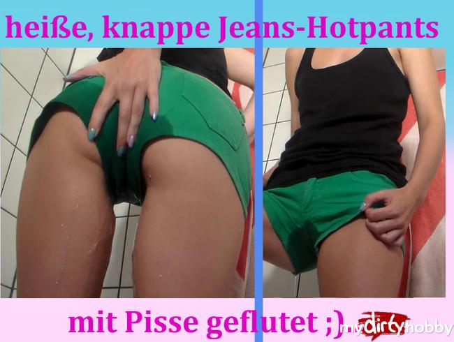 - Heiße Hotpants ordentlich geflutet