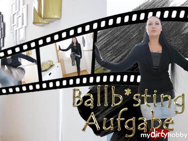 - Ballbusting Aufgabe