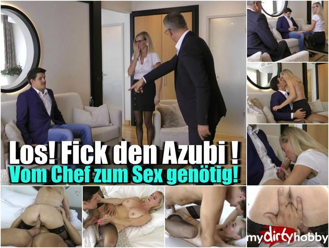- Los! Fick den Azubi! – Vom Chef zum Sex genötigt!