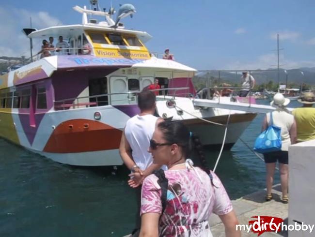 - Auf dem Catamaran in Malle Spaß gehabt!!