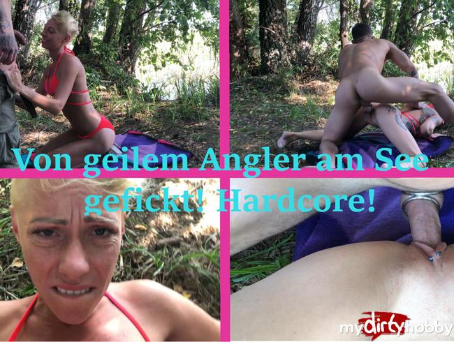 - Outdoorfick im Angelparadies!