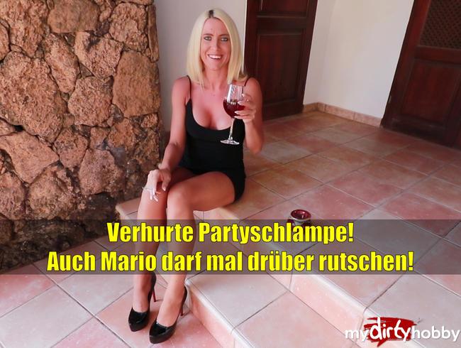 Daynia - Verhurte Partyschlampe lässt auch Mario drüber rutschen! Extrem perverses Finale!!!