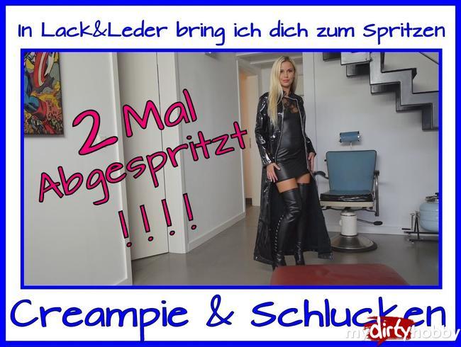 - 2x Abgespritzt im Lack & Leder Outfit