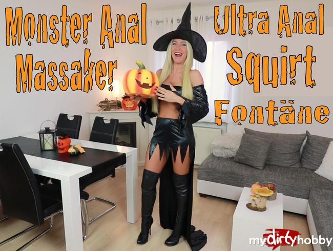 - Ultra Monster-Anal-Fick-Squirt Fontäne!