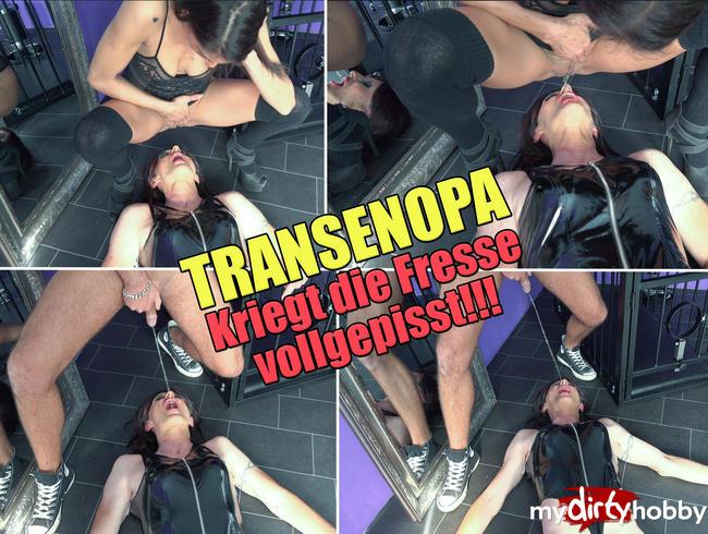 - Transenopa kriegt die Fresse voll gepisst!!!