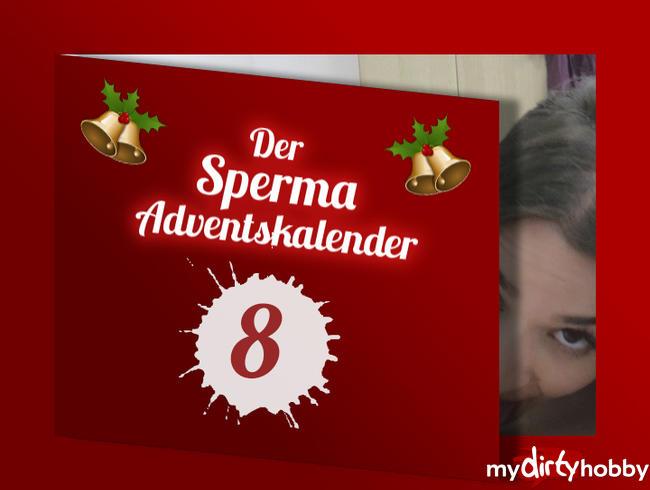 - TÜR 8 - SPERMA ADVENTSKALENDER