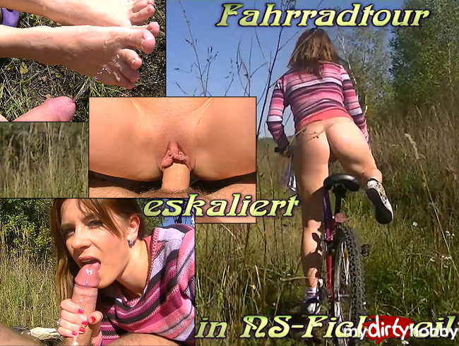 - Fahrradtour eskaliert in NS-Fickerei!