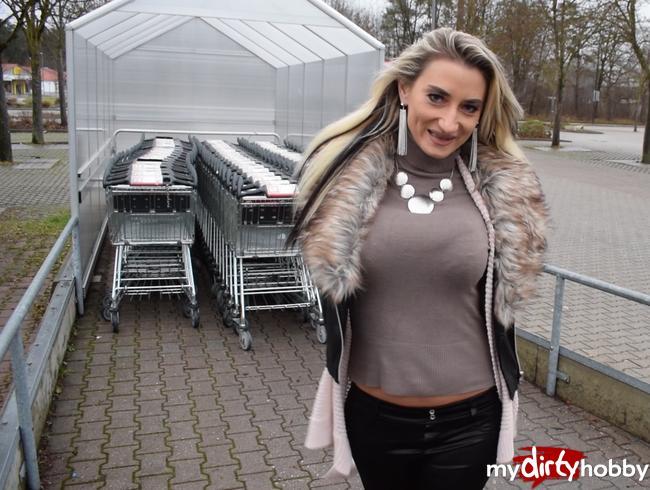 - Supermarkt Fick!! Erkannt beim Einkauf