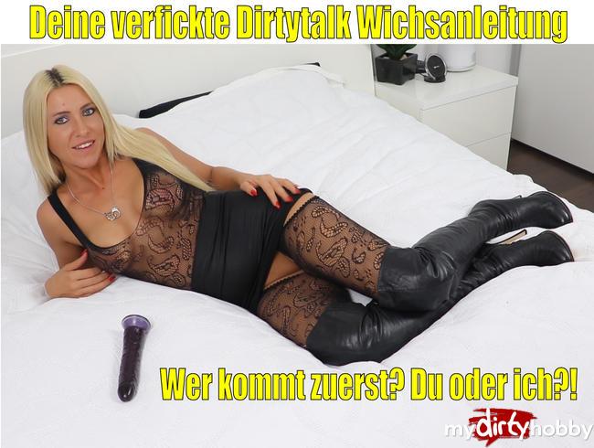 Daynia - Deine verfickte Dirtytalk Wichsanleitung | Wer kommt zuerst? Du oder ich?!