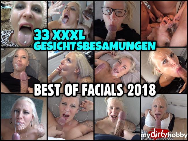 Lara-CumKitten - BEST OF FACIALS 2018 | 33 XXXL GESICHTSBESAMUNGEN