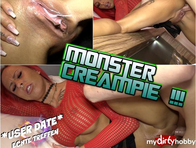 - USER DATE : Monster Creampie !!!