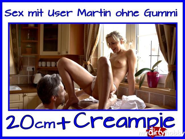 - Sex mit User Martin (20cm Penis) in der Küche !!!