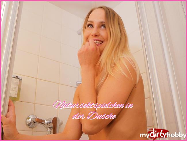 - Natursektspielchen in der Dusche