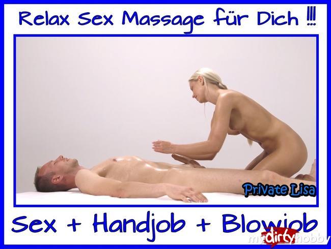 - Relax Sex Massage für Dich mit Happyend !!!