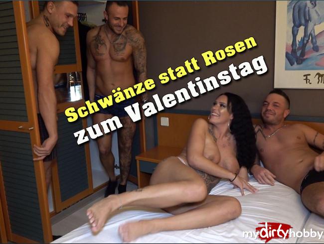 - Schwänze statt Rosen zum Valentinstag