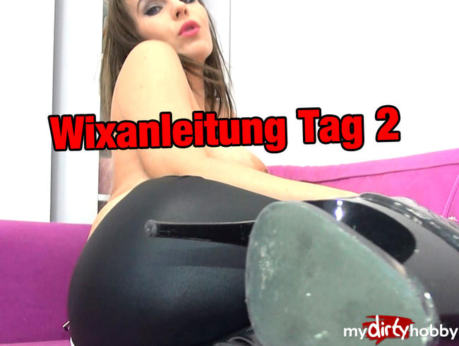 """- Wixanleitung Tag 2 """"SPEEDWIXXEN"""""""