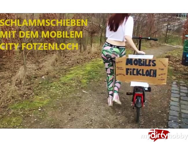 - Zweifach Fotzenbesamung!!! SCHLAMMSCHIEBEN mit dem mobilen CITY Fotzenloch***