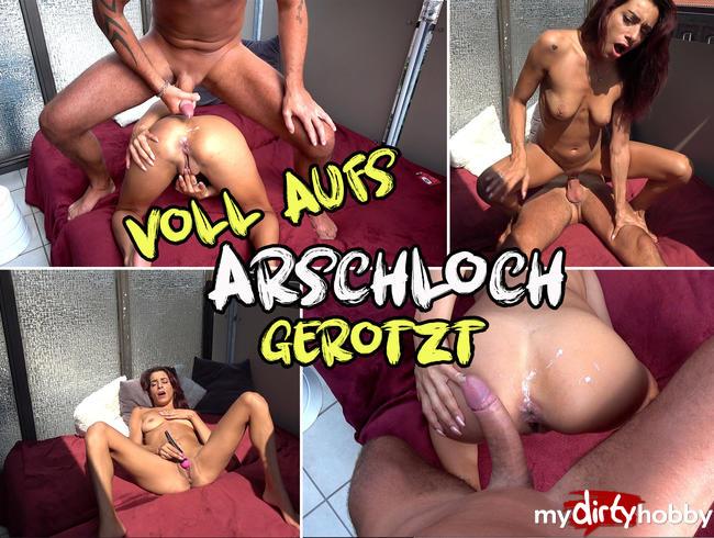 - VOLL AUFS ARSCHLOCH GEROTZT!!!