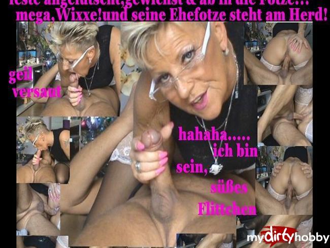 Sachsen-Lady - ,,des Nachbarn #rotzender Schwanz,Grrr,,,,