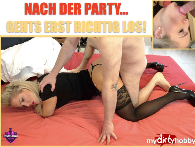 - DEVOTE PARTY-SCHLAMPE bekommt es hart!