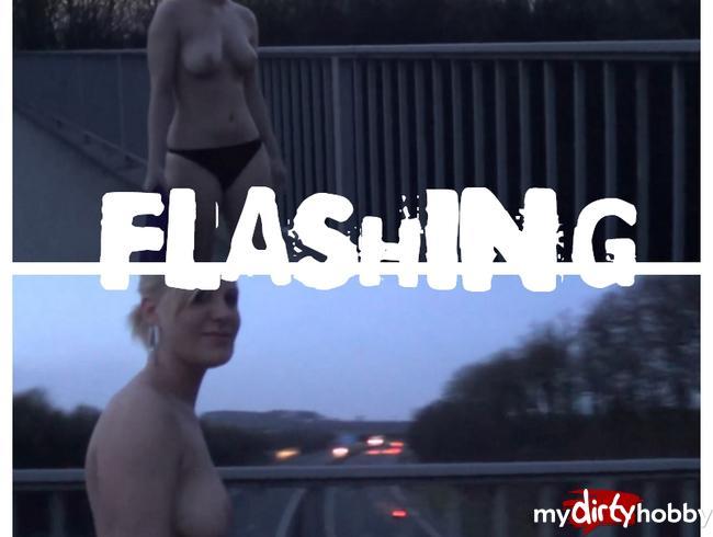 - Autobahnbrücken Flashing um 6:00 nach Disco